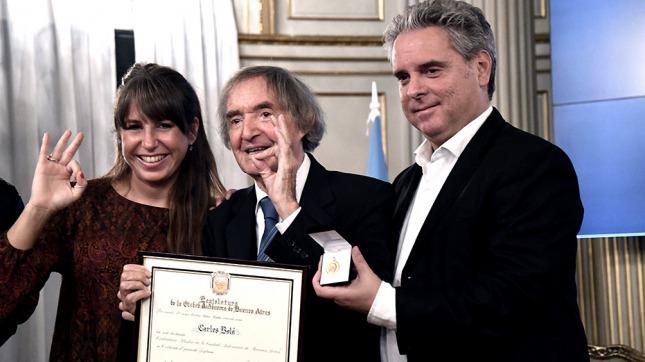 Carlitos Balá fue nombrado Ciudadano Ilustre de la Ciudad de Buenos Aires