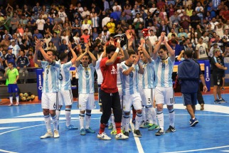 Argentina superó a Uruguay y jugará la final de la Copa América de Futsal contra Brasil