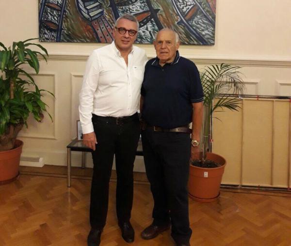 Julio Zamora se reunió con el titular de la Comisión de la Regata Internacional de Tigre (CRIT), Juan Carlos Vázquez