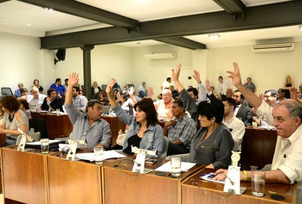 El HCD de San Fernando realizó la primera sesión del año