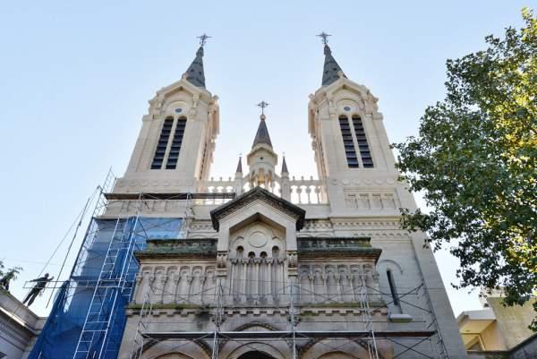 La Parroquia Aránzazu de San Fernando comienza a lucir completamente renovada