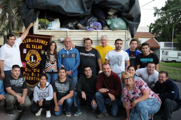 Tigre lleva donaciones para Comodoro Rivadavia