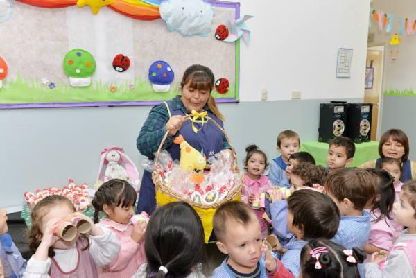 Los programas educativos municipales de San Fernando celebraron la Pascua