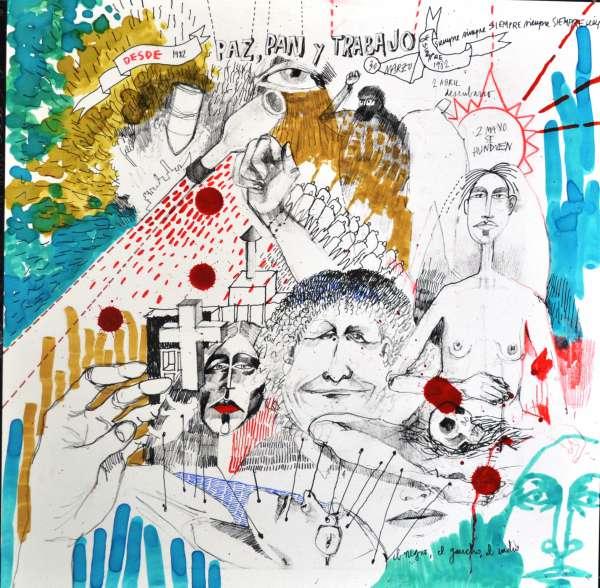 Tigre exhibe una muestra artística basada en los relatos de los combatientes de Malvinas