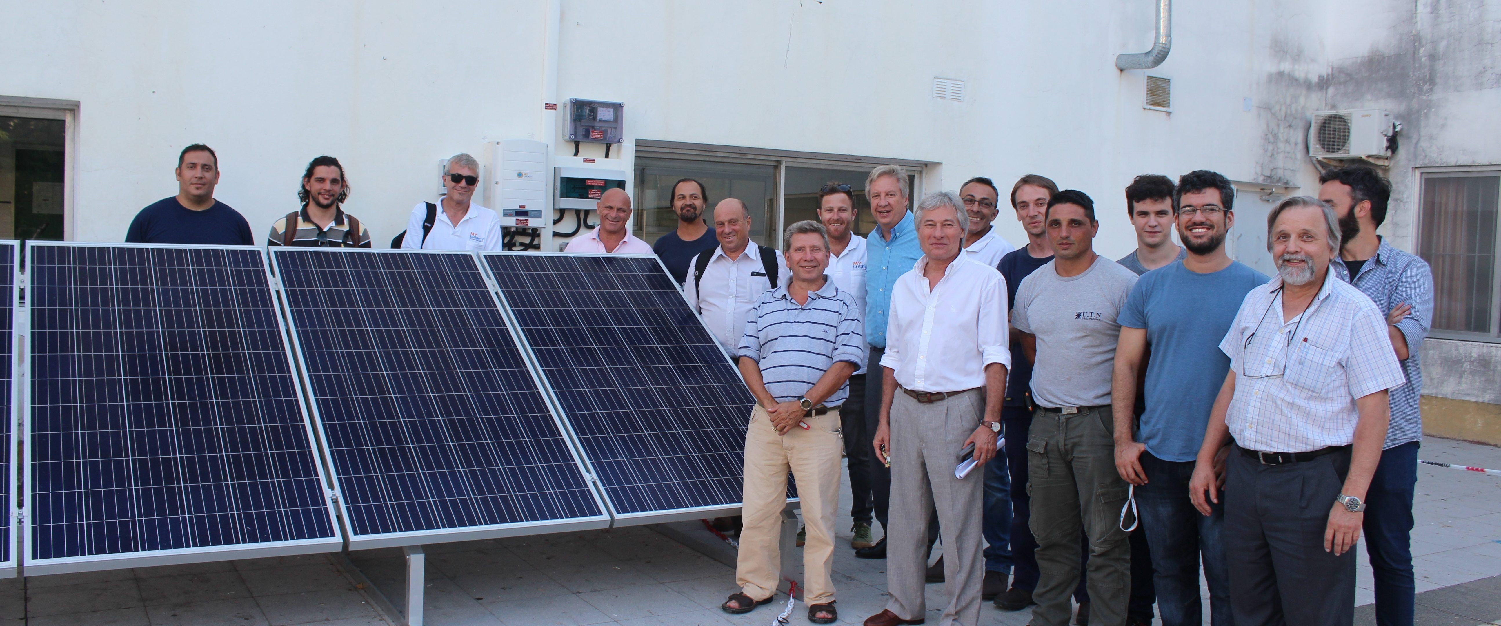 La UTN Regional Pacheco instaló el primer sistema fotovoltaico inteligente del país