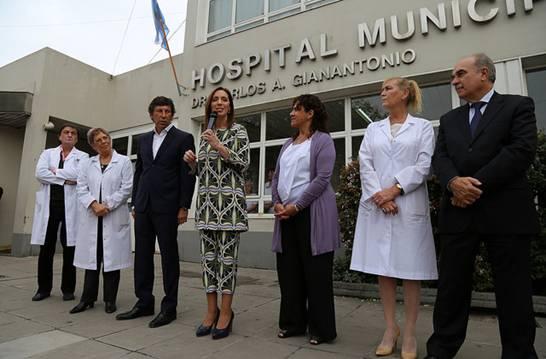 Vidal y Posse anunciaron una baja de la mortalidad materna en provincia