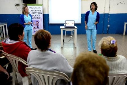 San Fernando continúa con el programa de prevención de salud para jubilados