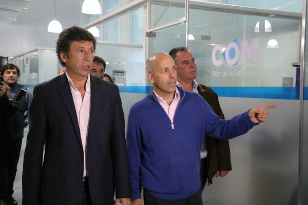 El intendente de Pilar, Nicolás Ducoté recibió a su par de San Isidro, Gustavo Posse.