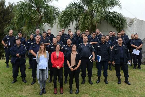 Tigre capacita a su personal policial en materia de género e infancia