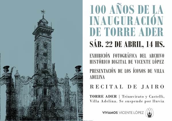 La Torre Ader cumple 100 años