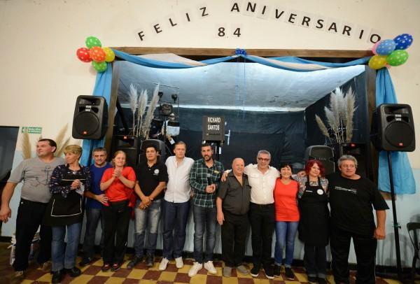 El Club Peñarol del Delta festejó su 84° aniversario