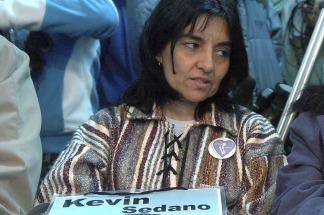 La madre de Kevin Sedano lamentó que quien lo atropelló no haya cumplido prisión efectiva