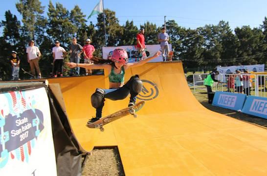 San Isidro tuvo su tercer festival de skate