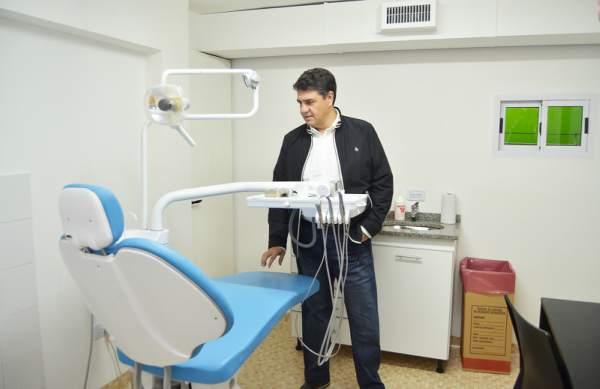 Jorge Macri recorrió las nuevas instalaciones de la UAP Marcelino