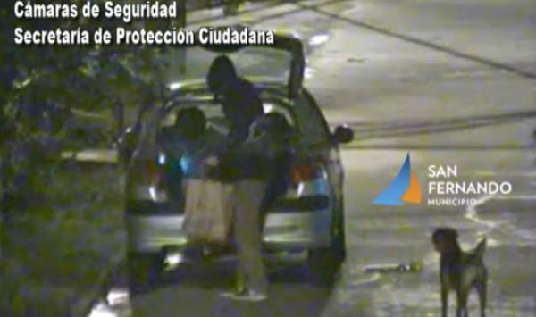 Luego de una persecución, un hombre fue detenido por robar un vehículo en San Fernando