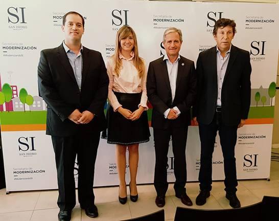 García Beaumont, Rosalía Fucello (concejal), Ibarra y Posse