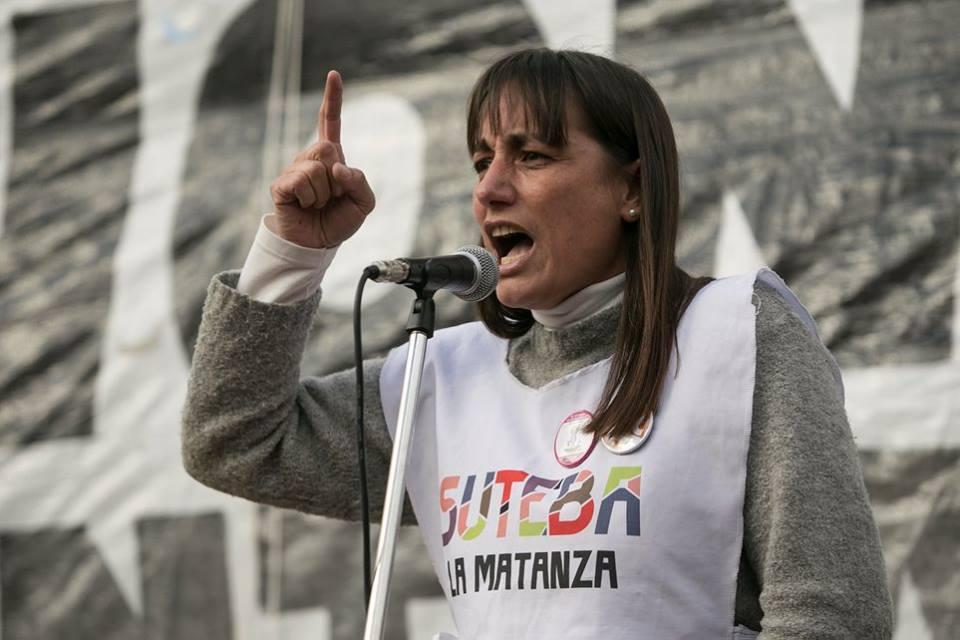 Romina Del Plá denuncia graves irregularidades en las elecciones del Suteba