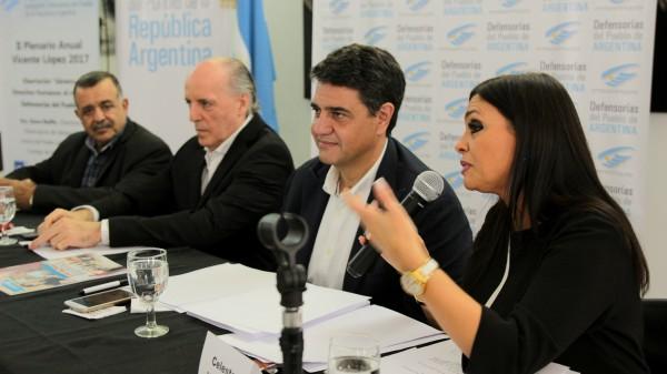 Vicente López celebró un nuevo plenario de defensores del pueblo de la nación