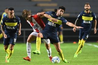 Boca jugó muy mal y dejó dos puntos en La Plata
