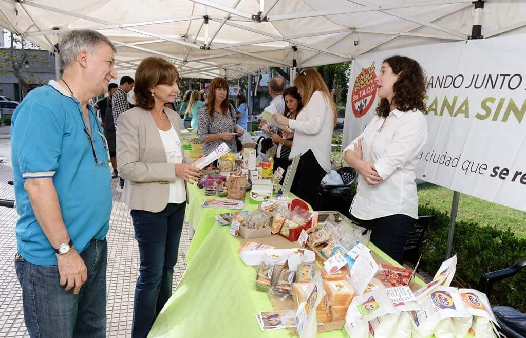 San Fernando organizó una concurrida actividad por el Día del Celíaco