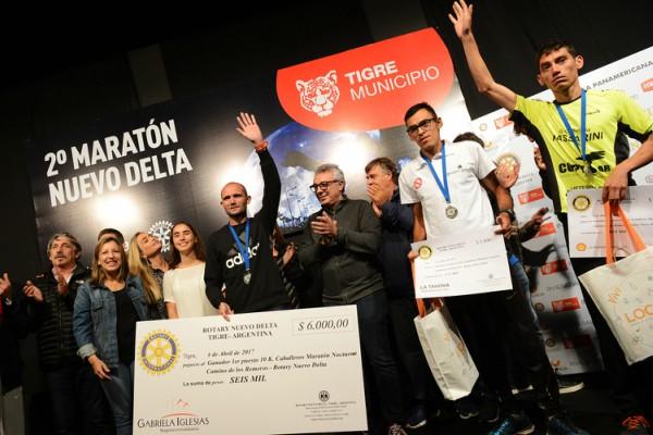 Más de 2 mil personas corrieron la segunda Maratón Nocturna Nuevo Delta