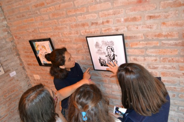 En Tigre, el arte mantiene viva la memoria por Malvinas