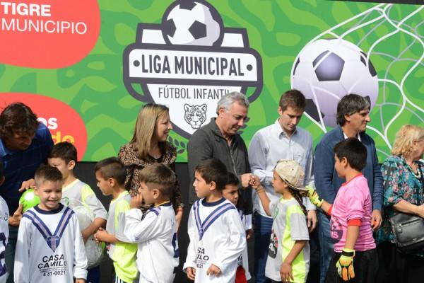 2.500 chicos de más de 20 clubes participarán de la Liga de Fútbol Infantil de Tigre
