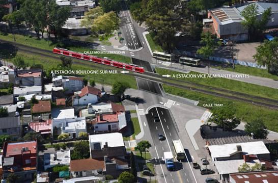 Comenzó la obra de av. Sarratea en Boulogne: nuevo túnel, repavimentación y ensanche