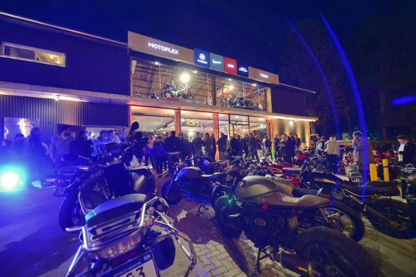 El intendente Julio Zamora estuvo presente en la inauguración de la marca Moto Plex,  que de la mano del grupo italiano Piaggio, desembarcó con un importante desarrollo en el polo comercial de Nuevo Delta.