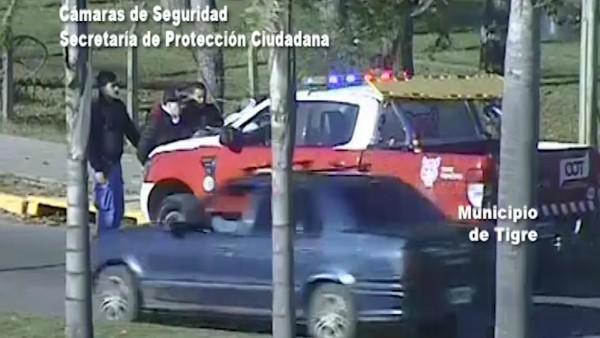 Un hombre armado en un colectivo fue detenido en Tigre