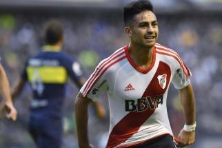 Gonzalo Martínez sobresalió en la victoria de River