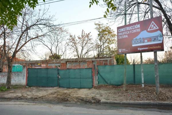 Comenzó la construcción de la nueva sede de la biblioteca de El Talar