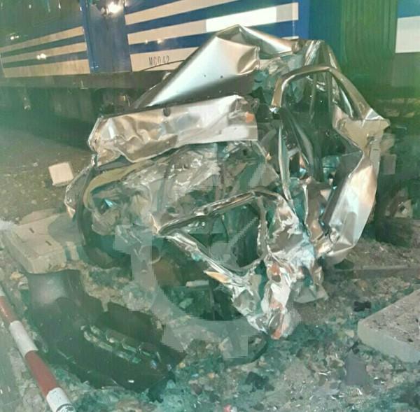 Milagroso accidente Ferroviario en San Fernando