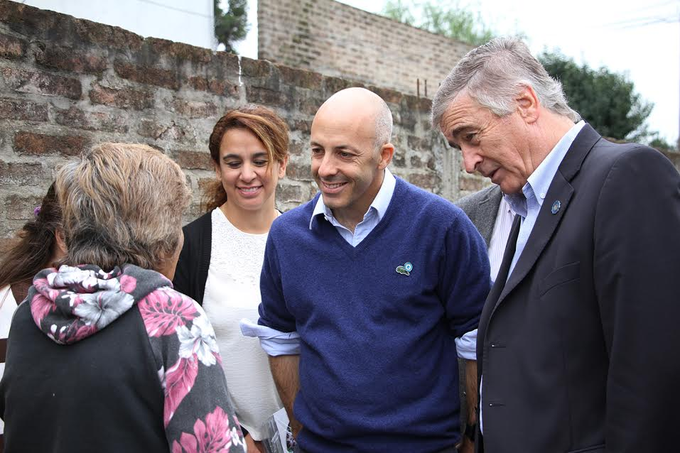 Ducoté recibió al Ministro Aguad
