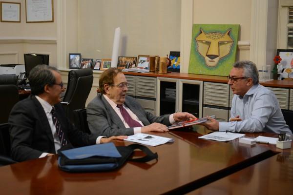 """Tamames se reunió con Zamora en Tigre y dijo que los argentinos necesitan un """"pacto económico y social"""""""
