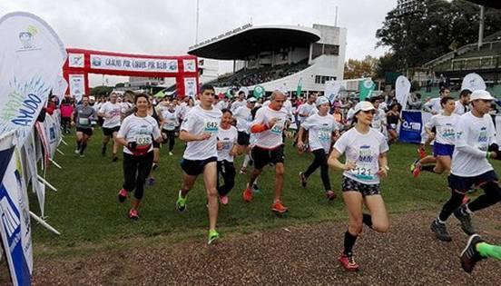 Más de 1.500 personas corrieron en San Isidro para ayudar a chicos con cáncer