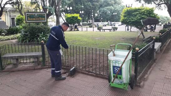 San Isidro renueva el servicio de barrido