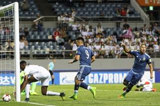 Argentina goleó a Guinea y quedó con chances de clasificarse a octavos de final en el Mundial Sub-20