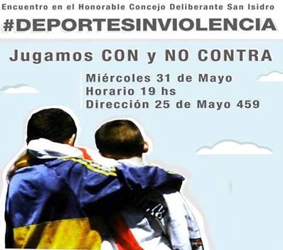 Jugadores profesionales promoverán en San Isidro el deporte sin violencia