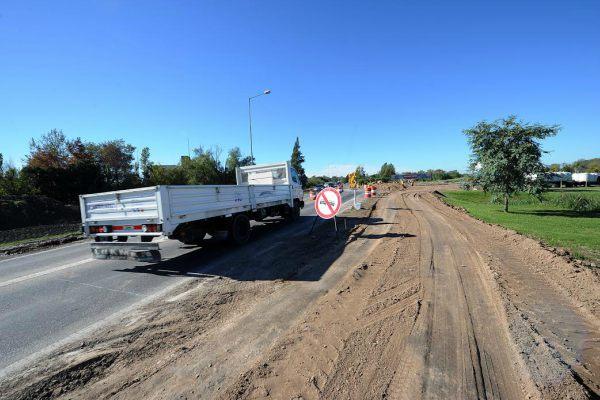 Tigre extiende las obras viales en el Camino de los Remeros