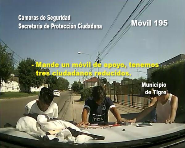 Detienen en Tigre a tras hombres armados tras una denuncia por SMS