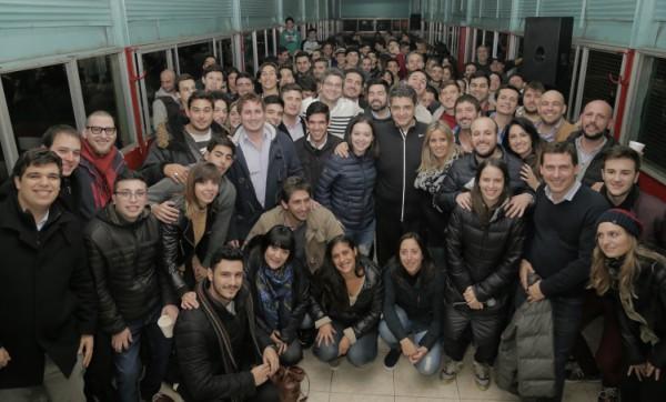 Jorge Macri y Soledad Martinez encabezaron un encuentro de jóvenes en Vicente López