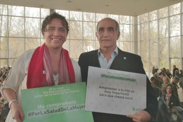 Vicente López recibió a autoridades de la provincia de Buenos Aires, por el Día de la Salud de la Mujer