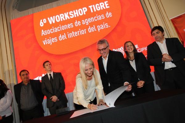 Tigre firmó acuerdos de promoción turística con agencias de viajes de todo el país