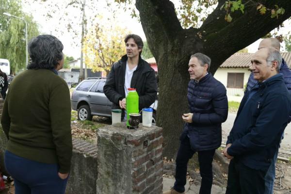 Daniel Salvador, Gustavo Ferrari y Segundo Cernadas timbrearon en Tigre