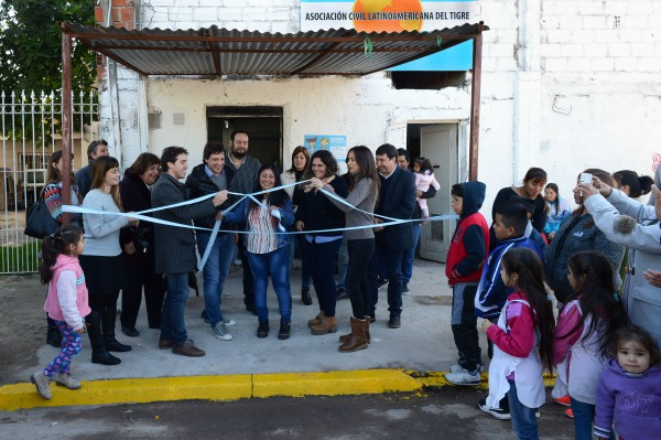 Tigre acompañó la inauguración de un espacio de Primera Infancia en Don Torcuato