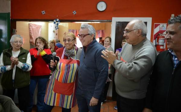 El Centro de Jubilados y Pensionados General Conesa de Benavídez festejó su 22° aniversario  ()