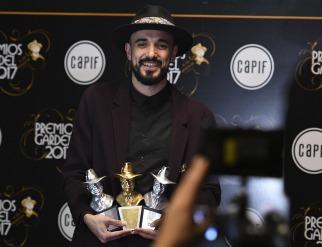 Abel Pintos ganó anoche el tercer Gardel de Oro en su carrera
