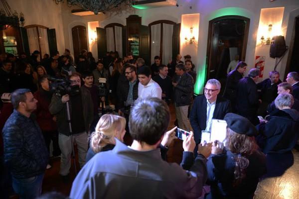Julio Zamora celebró el Día del Periodista en Tigre junto a los profesionales locales y regionales