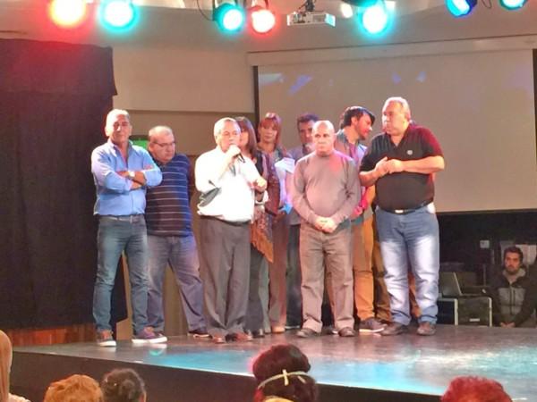 Roberto Passo Saludó a los trabajadores del Automóvil Club en su Día